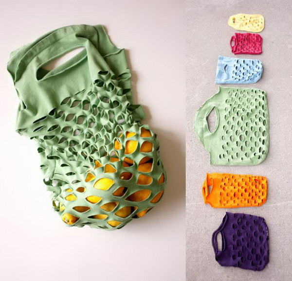 20+ Creative Ideas to Repurpose Your Old T-shirts - Hative