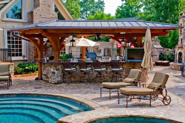 Outdoor Kitchen Pictures 25 cool and practical outdoor kitchen ideas - hative