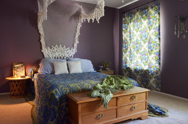 Lavender And Lace One Of The Most Combination For Bedroom White