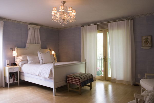 Soothing Lavender Bedroom