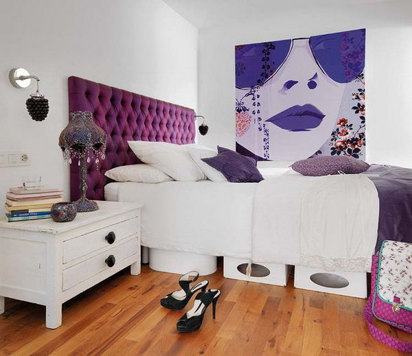80 inspirational purple bedroom designs ideas hative 20136 | 59 purple bedroom ideas