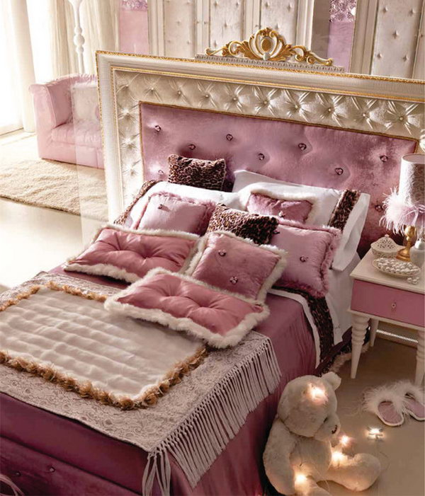 Silver and purple bedroom ideas
