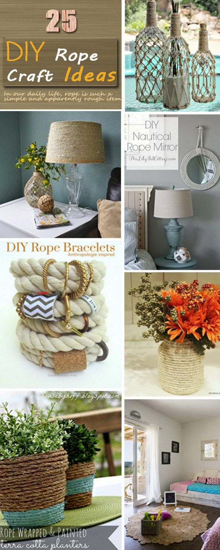 Creative DIY Rope Crafts!