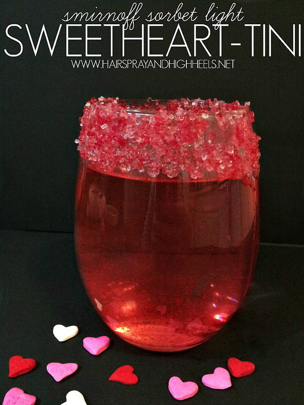 Sweetheart Tini Cocktail