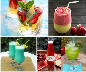summer-drink-recipes-collage