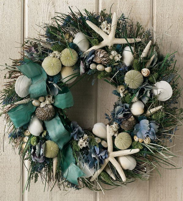 Summer Shore Wreath.