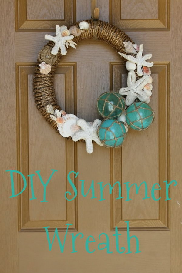 20 beautiful summer wreath tutorials and ideas hative