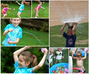 water-balloon-game-for-kids-collage