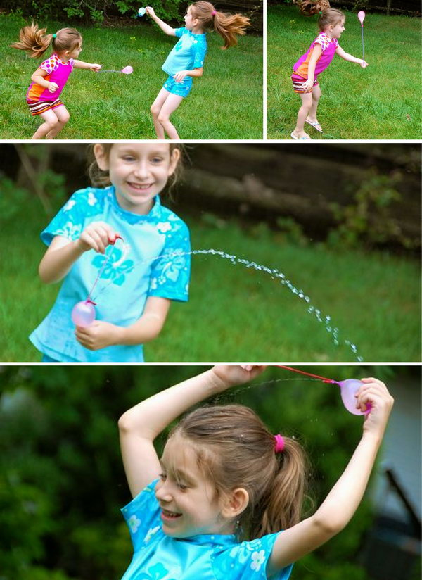 Water Balloon Yo Yos. It's time to display your skills to play water Yo Yos, it may be a little challenging as you can't break it.