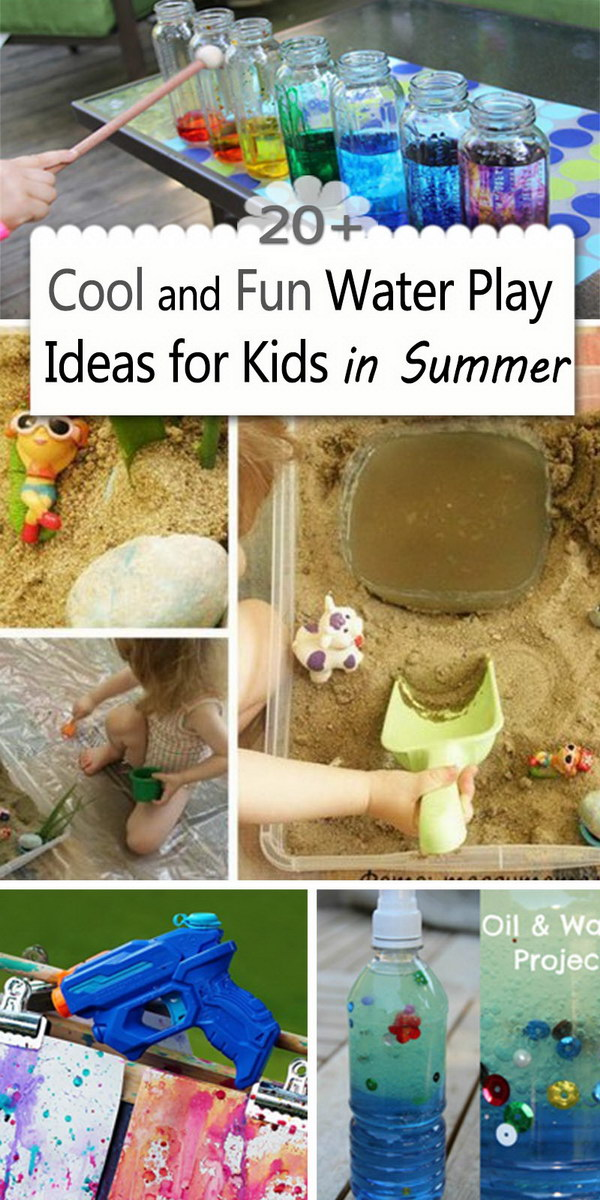 Cool and Fun Water Play Ideas for Kids in Summer!