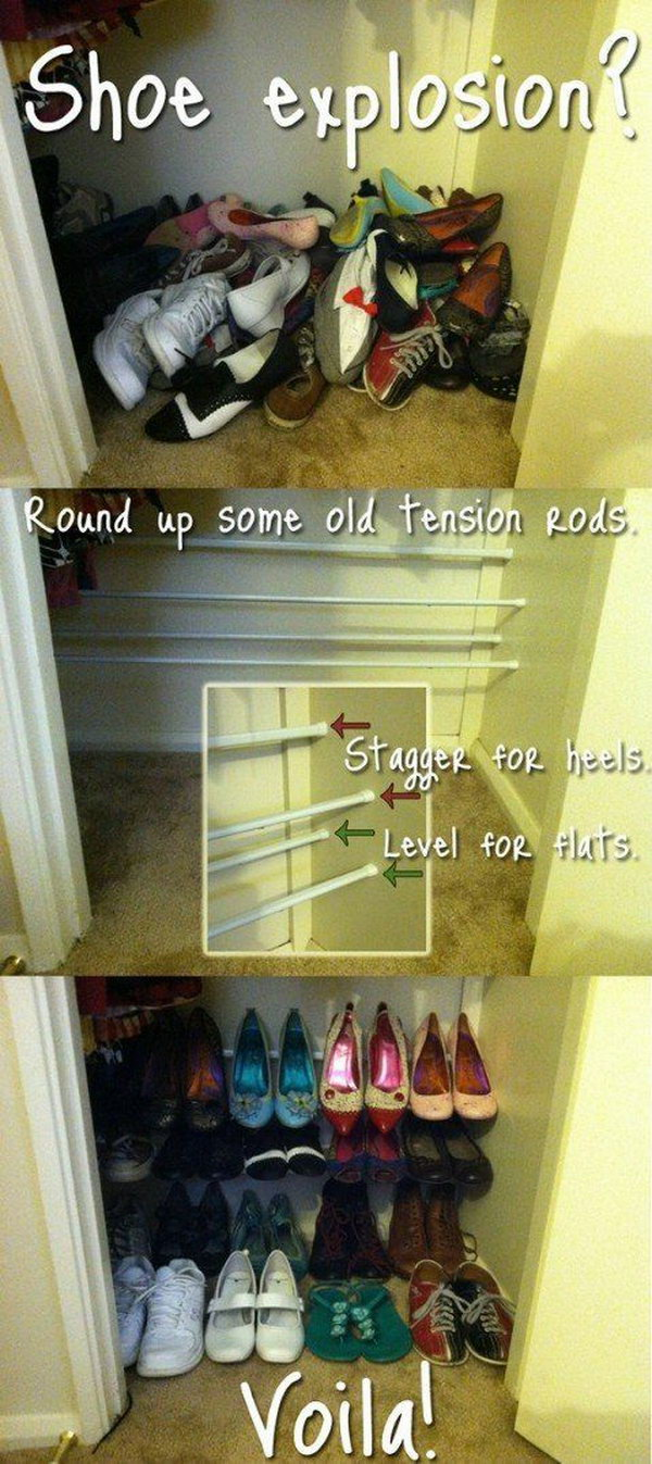organizing fixing to shelves your closet design ways pin in reach ideas