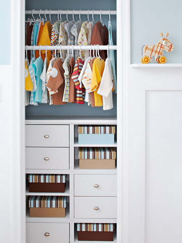 40 clever closet storage and organization ideas hative - Storage ideas for closets ...