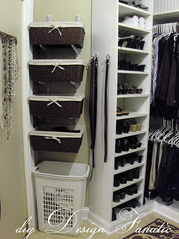 40 clever closet storage and organization ideas hative Closet toy storage ideas