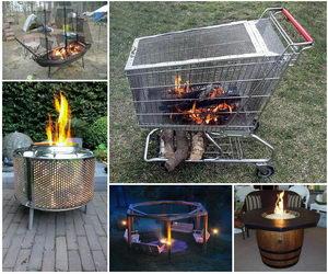 diy-fire-pit-ideas-collage