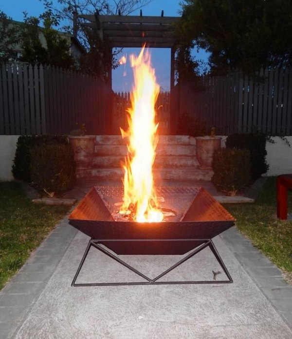 35 DIY Fire Pit Ideas - Hative