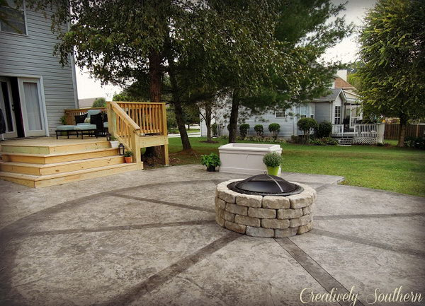 Moveable Fire Pit