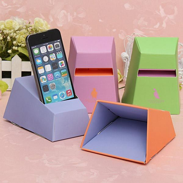 20 cool and simple diy iphone speaker ideas hative for Useful things to make out of paper