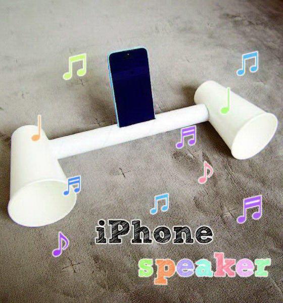 20+ Cool And Simple DIY IPhone Speaker Ideas