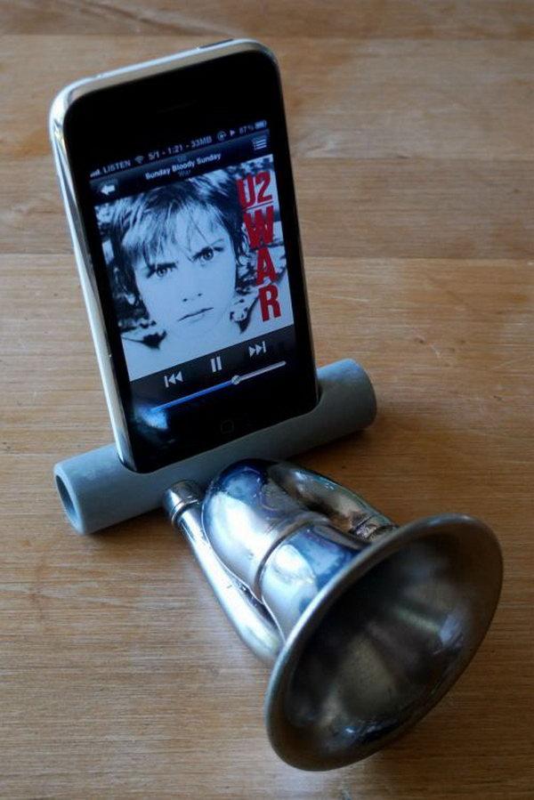 Diy Iphone Speaker Amplifier