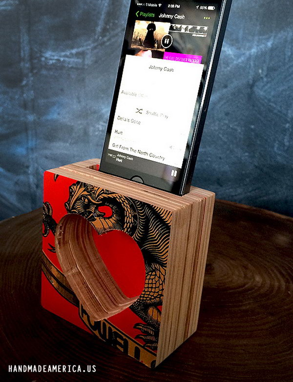 20 Cool And Simple Diy Iphone Speaker Ideas Hative