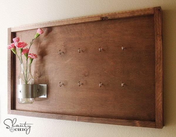 20 Diy Key Holder Ideas Patio Furniture Amp Home Decor In