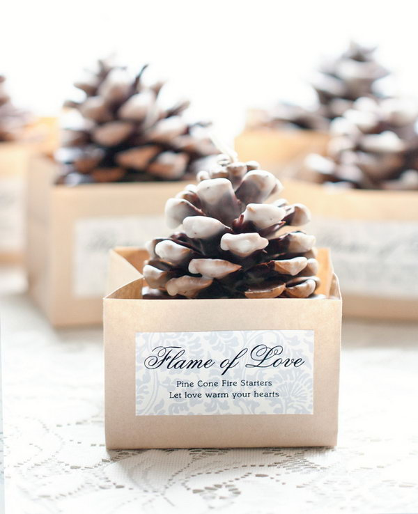 Wedding Gift For Guest Diy : 20 Easy and Usable DIY Wedding Favor Ideas - Hative
