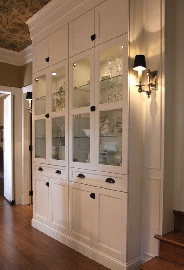 ikea hack dining room hutch