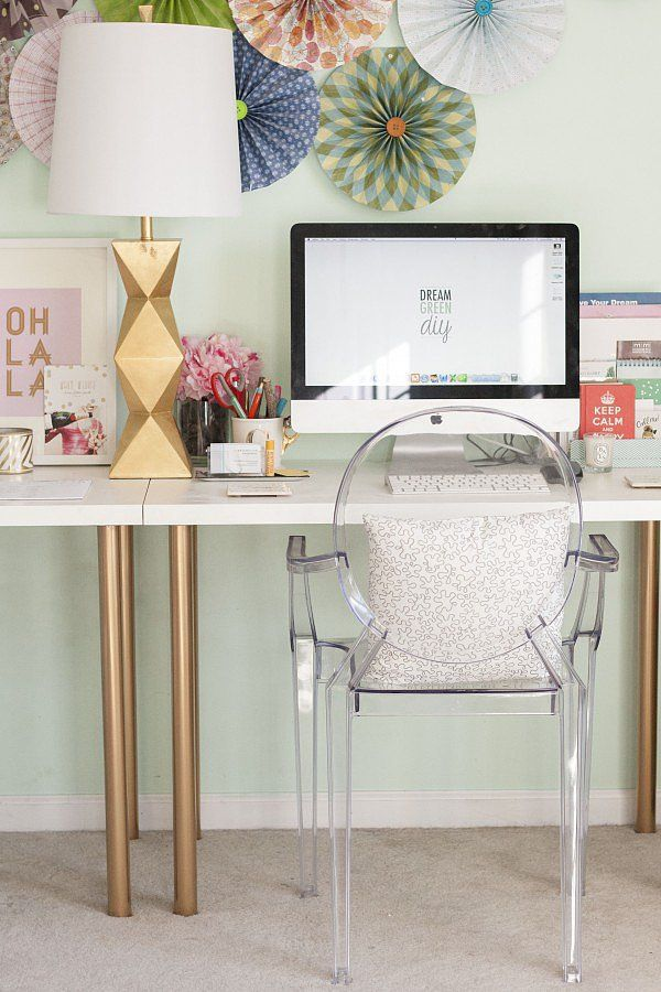 20 cool and budget ikea desk hacks hative rh hative com ikea office desk ideas ikea kallax desk ideas