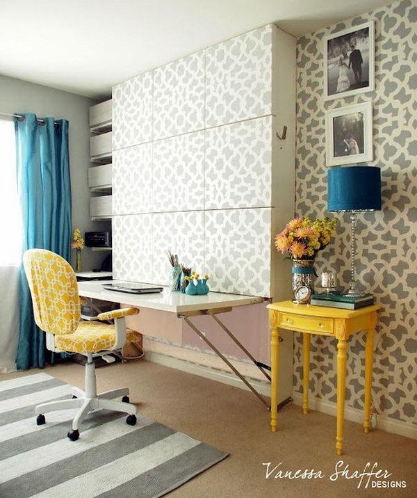 20 cool and budget ikea desk hacks hative. Black Bedroom Furniture Sets. Home Design Ideas