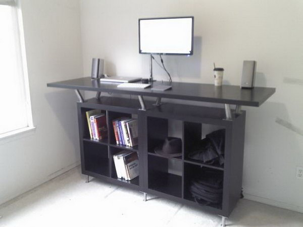20 Cool and Bud IKEA Desk Hacks Hative