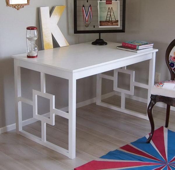 20 Cool and Budget IKEA Desk Hacks Hative : 5 ikea desk hacks from hative.com size 600 x 583 jpeg 55kB