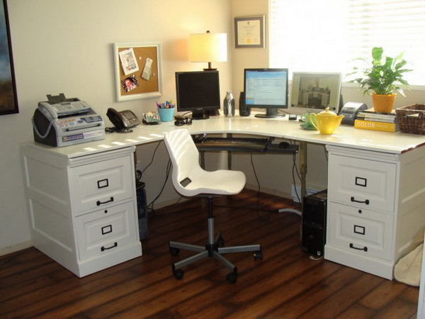 Charmant Pottery Barn Inspired Desk