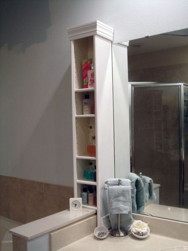 15 Genius Ikea Hacks For Bathroom Hative