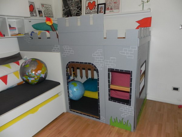 DIY IKEA Kura Castle Bed