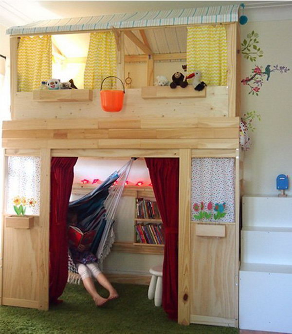 33 transforming furniture ideas for kids room for Youth beds ikea