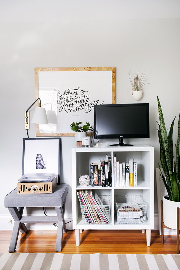 25 Ikea Kallax Or Expedit Shelf Hacks Hative