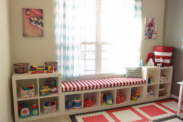 Ikea Dietlikon Schuhschrank ~ Ikea Kallax Hack Playroom Storage Personalize your space by