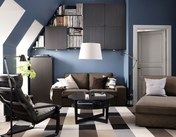 15 beautiful ikea living room ideas hative for Ikea small living room ideas