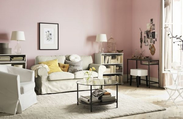 Simple Yet Chic Living Room. You Donu0027t Need To Spend Much To Create