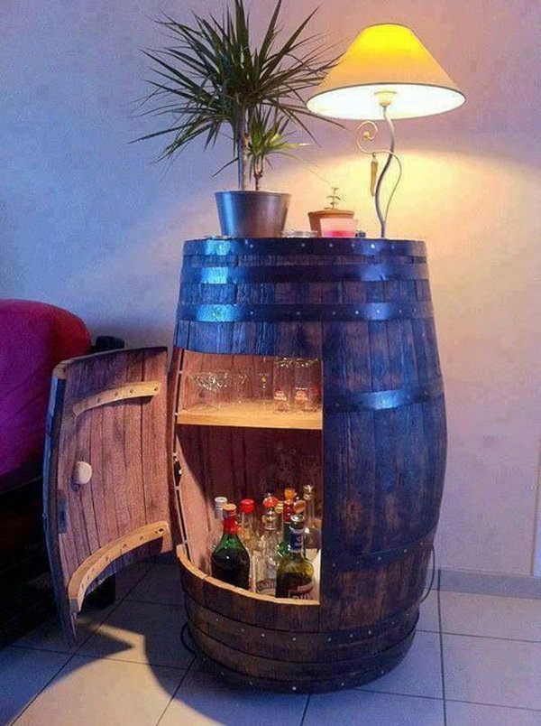 Whiskey Barrel Bar