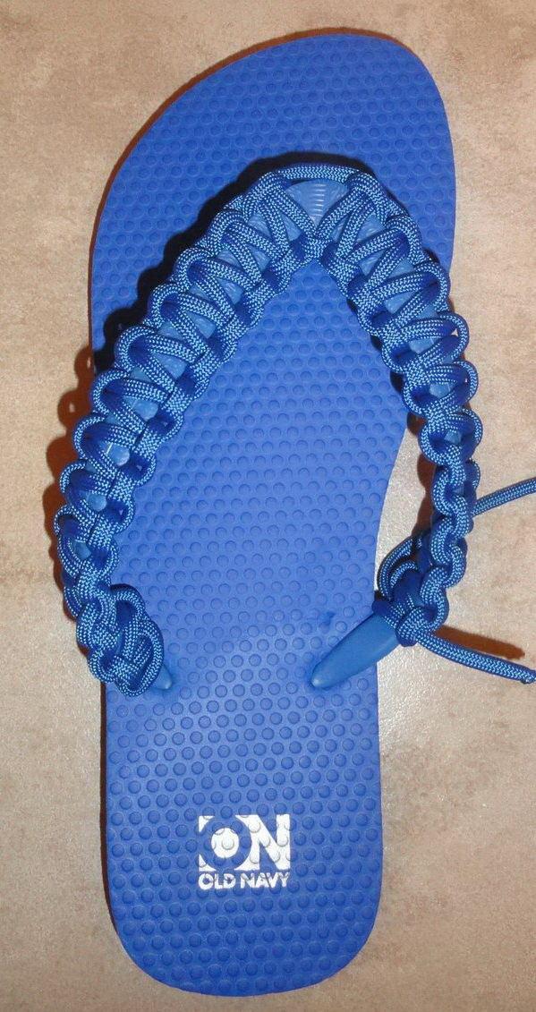 DIY Paracord Flip flops