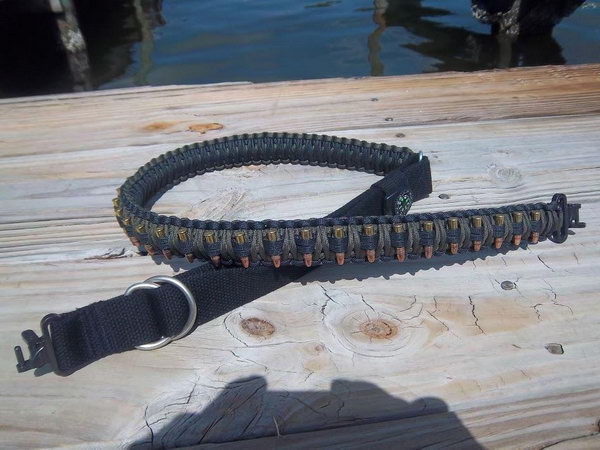 Paracord Bandolier: Cool but More Difficult Version