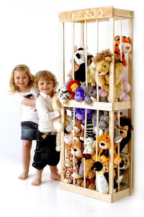Teddy Bear Storage Ideas Home