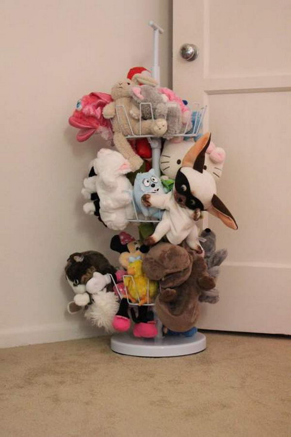 25 Clever Creative Ways To Organize Kids Stuffed Toys Hative