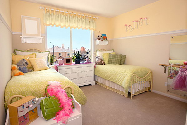 Awesome Twin Bedroom Ideas for Girls!