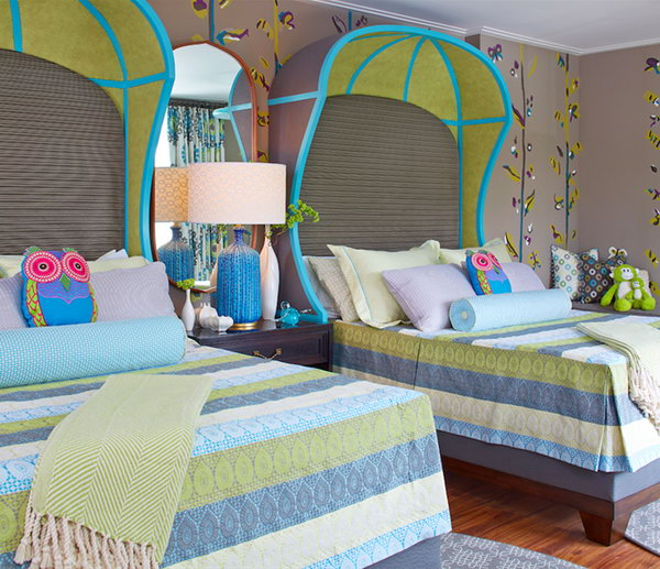 Small Bedroom Ideas For Two Twin Beds: 40+ Cute And InterestingTwin Bedroom Ideas For Girls