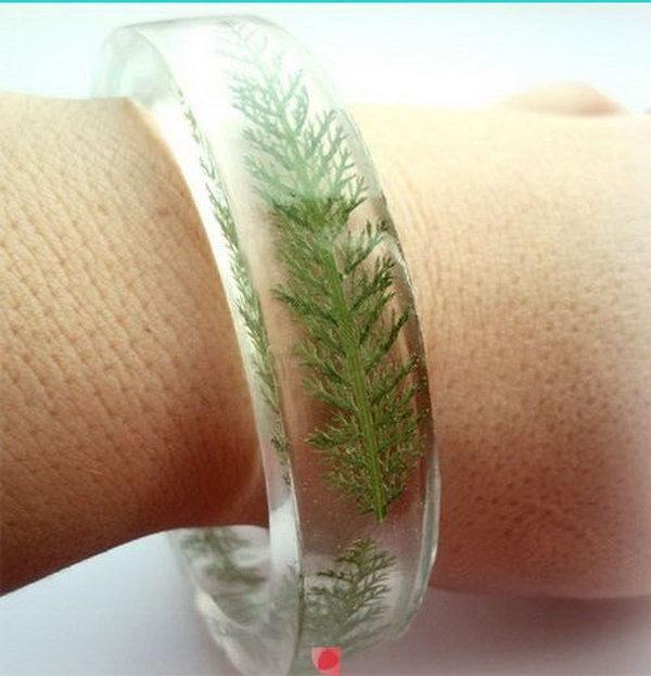Floral DIY Bracelets. See the tutorial