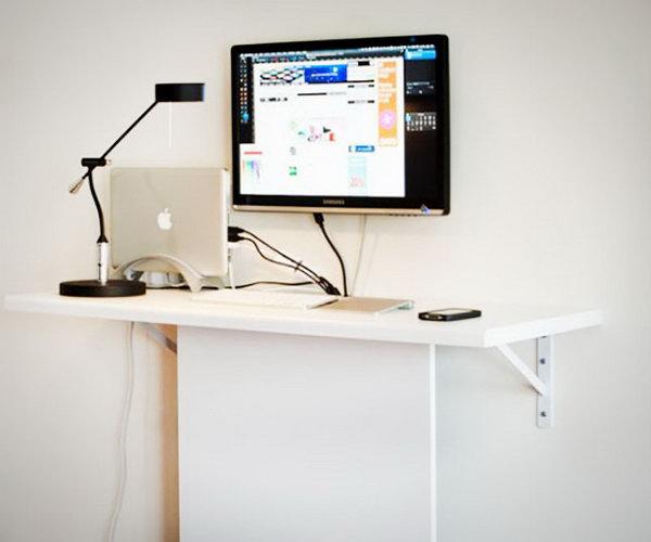 very functional cheap diy standing desk - Computer Desk Ideas