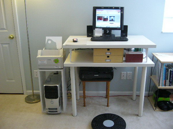Computer Desk Ideas 15+ diy computer desk ideas & tutorials for home office - hative