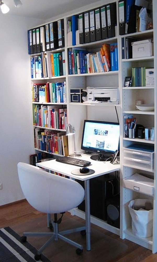 15 Diy Computer Desk Ideas Amp Tutorials For Home Office Hative